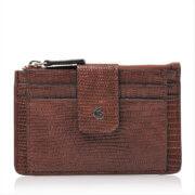Castelijn & Beerens Mini Wallet Donna RFID Cognac