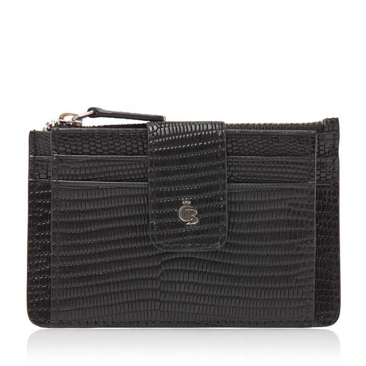 Castelijn & Beerens Mini Wallet Donna RFID Zwart