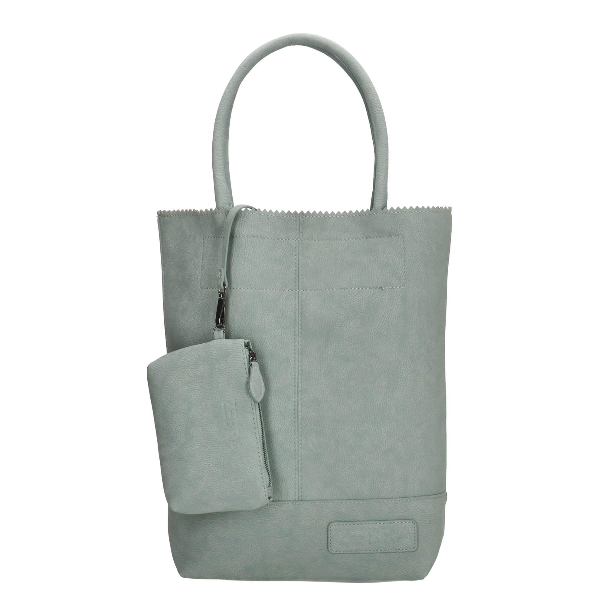 Zebra Trends Shopper met Etui Natural Bag Kartel Petrol