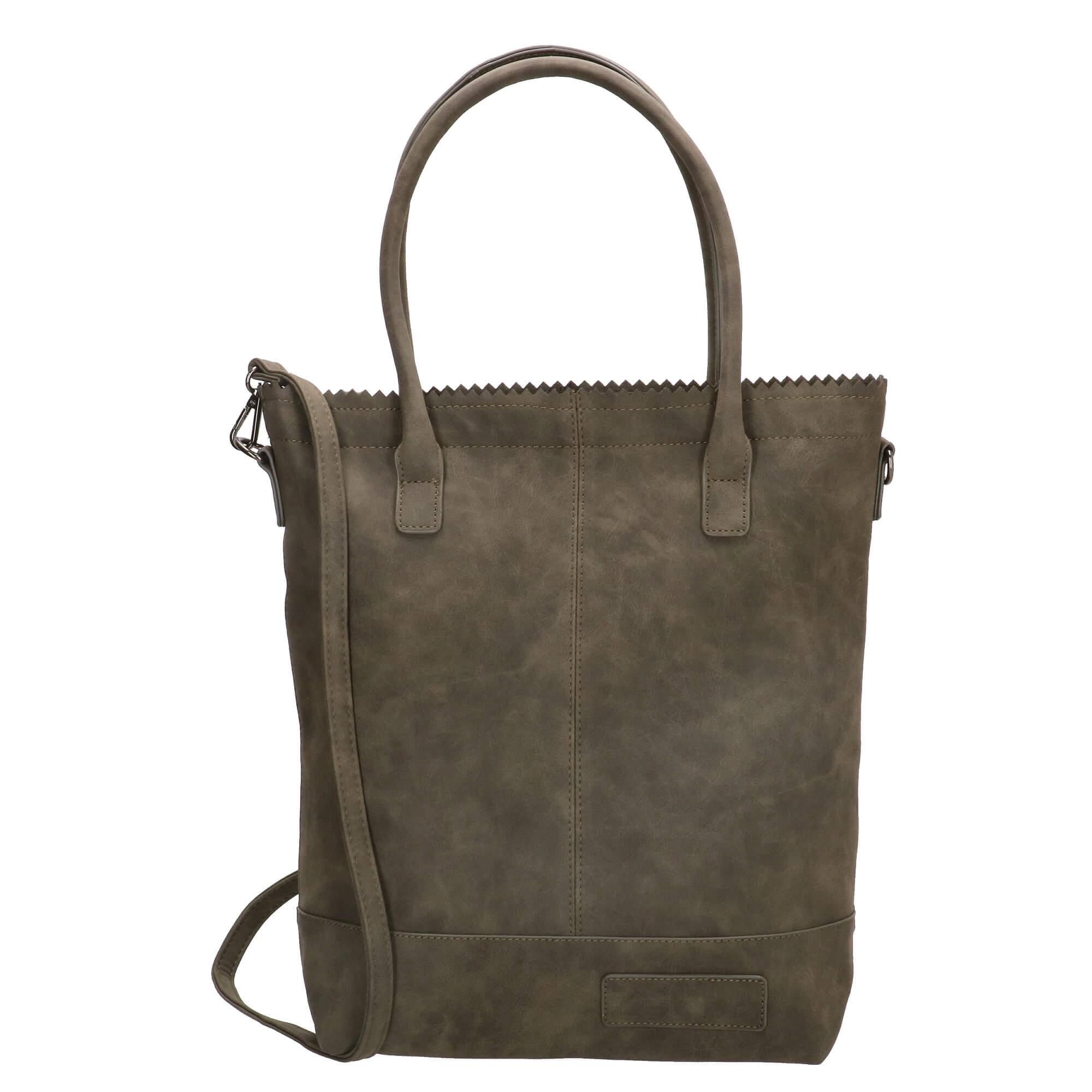 Zebra Trends Shopper met Etui Natural Bag Kartel Fearless II Army