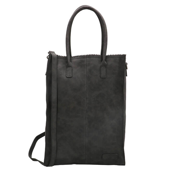 Zebra Trends Shopper Natural Bag Rosa XL Zwart