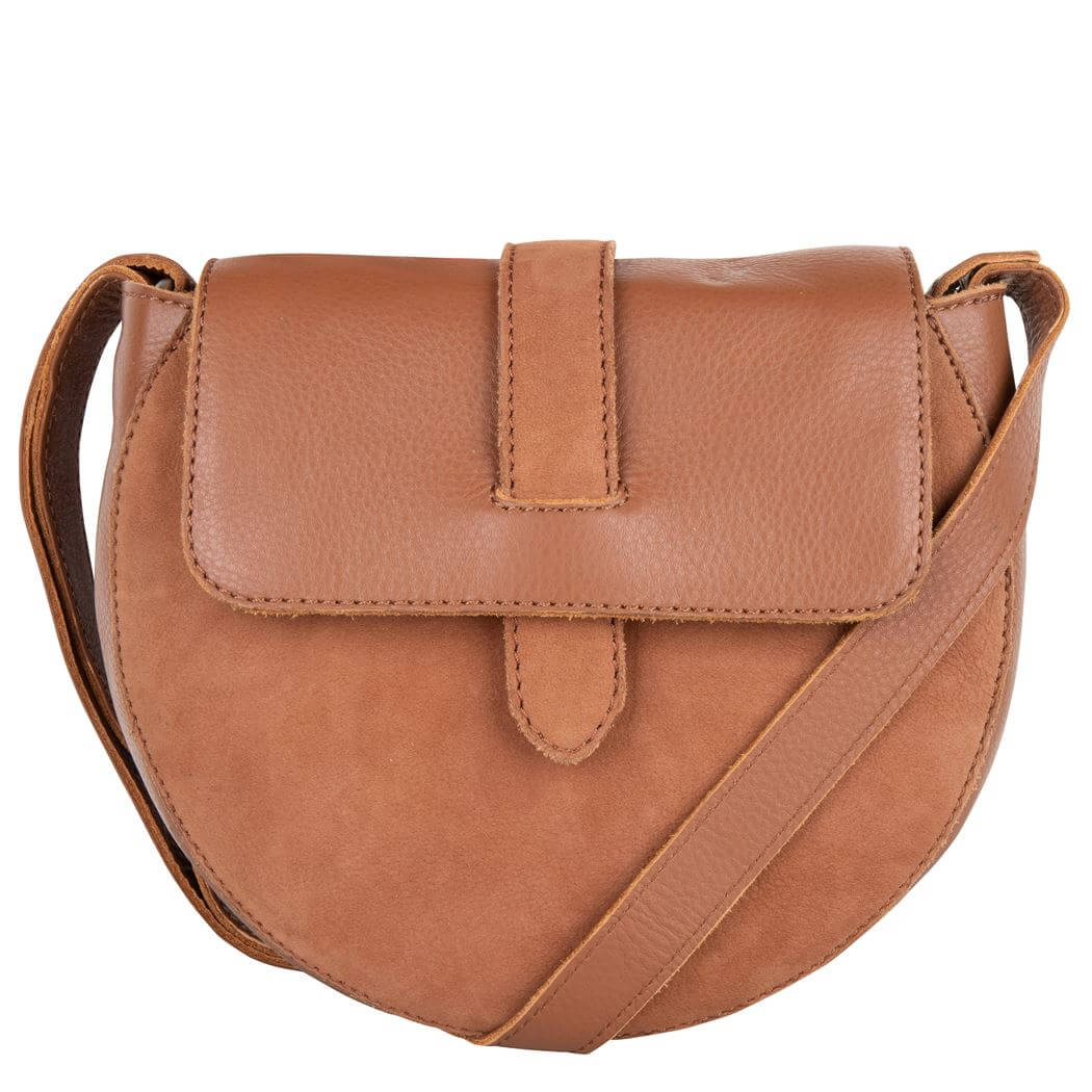 Cowboysbag Crossbody Schoudertas Bag Bowen Caramel