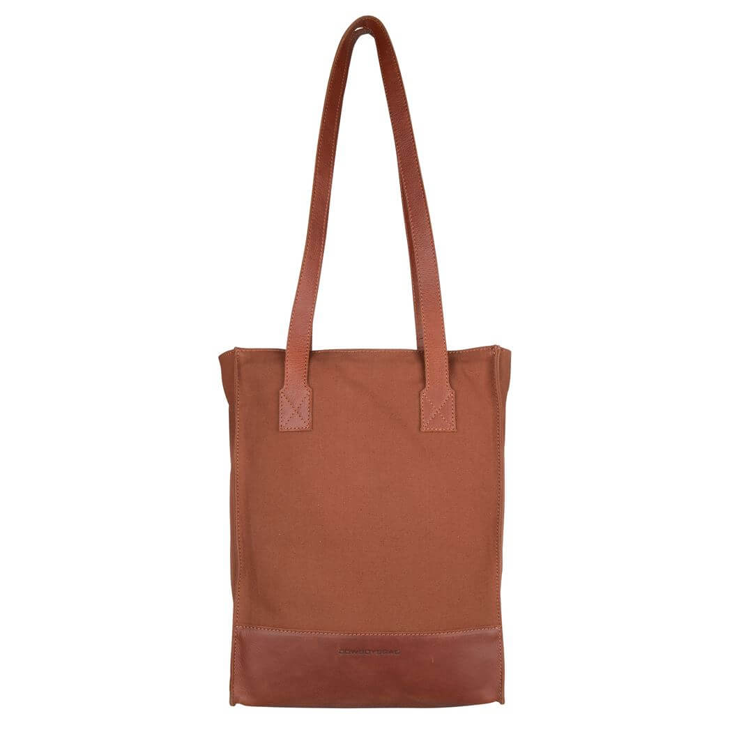 Cowboysbag Rugzak / Shopper Bag Mackay 15'' Cognac