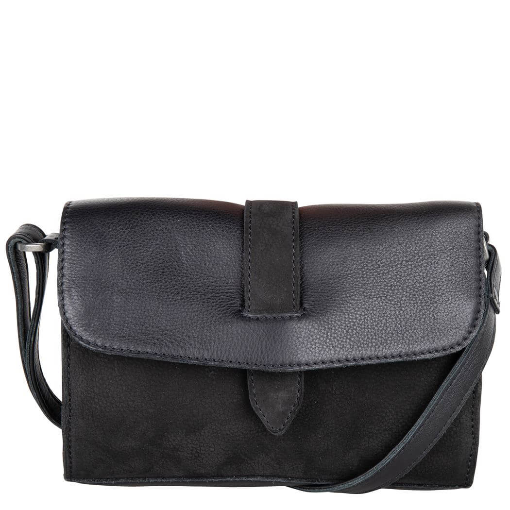 Cowboysbag Crossbody Schoudertas Bag Morven Black