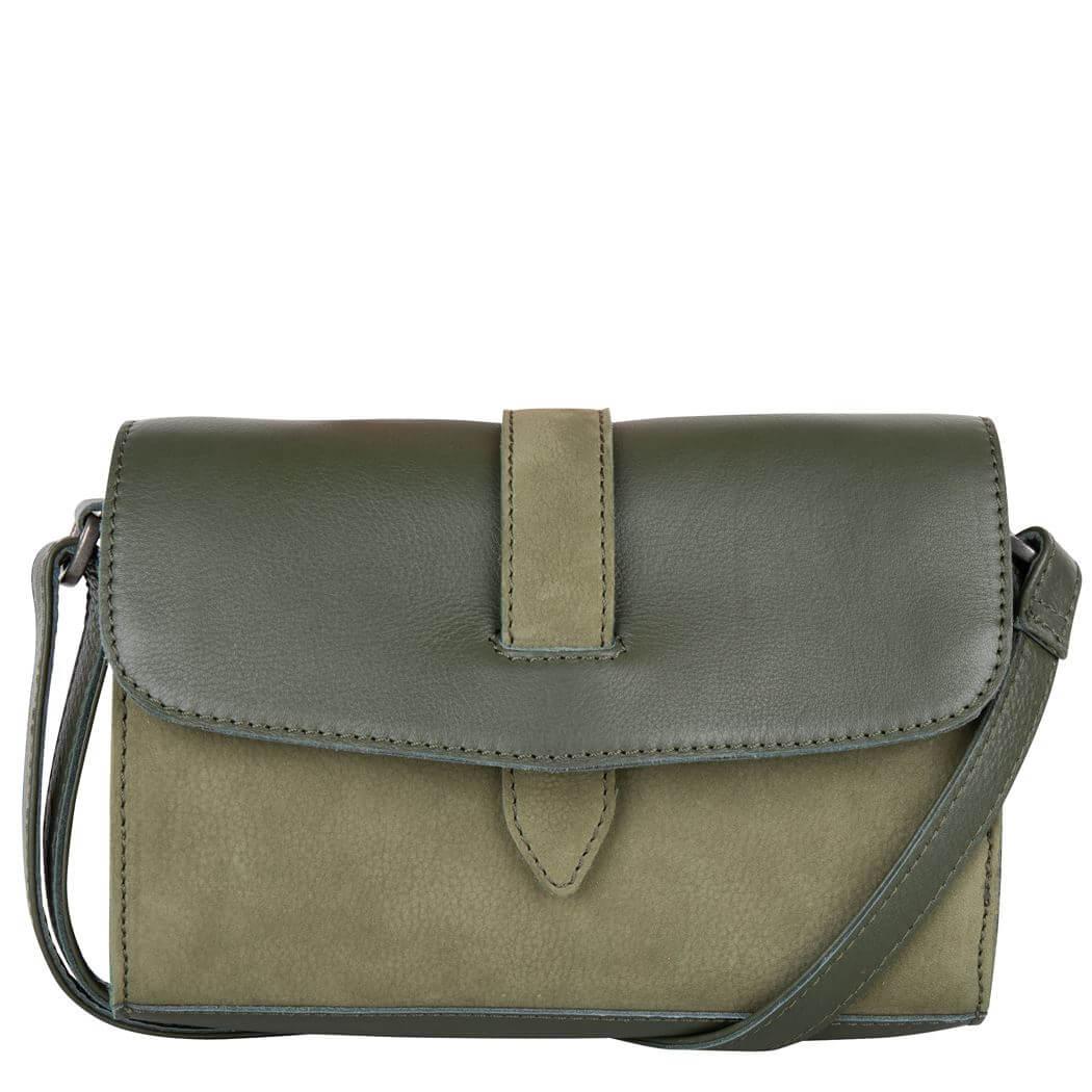 Cowboysbag Crossbody Schoudertas Bag Morven Groen