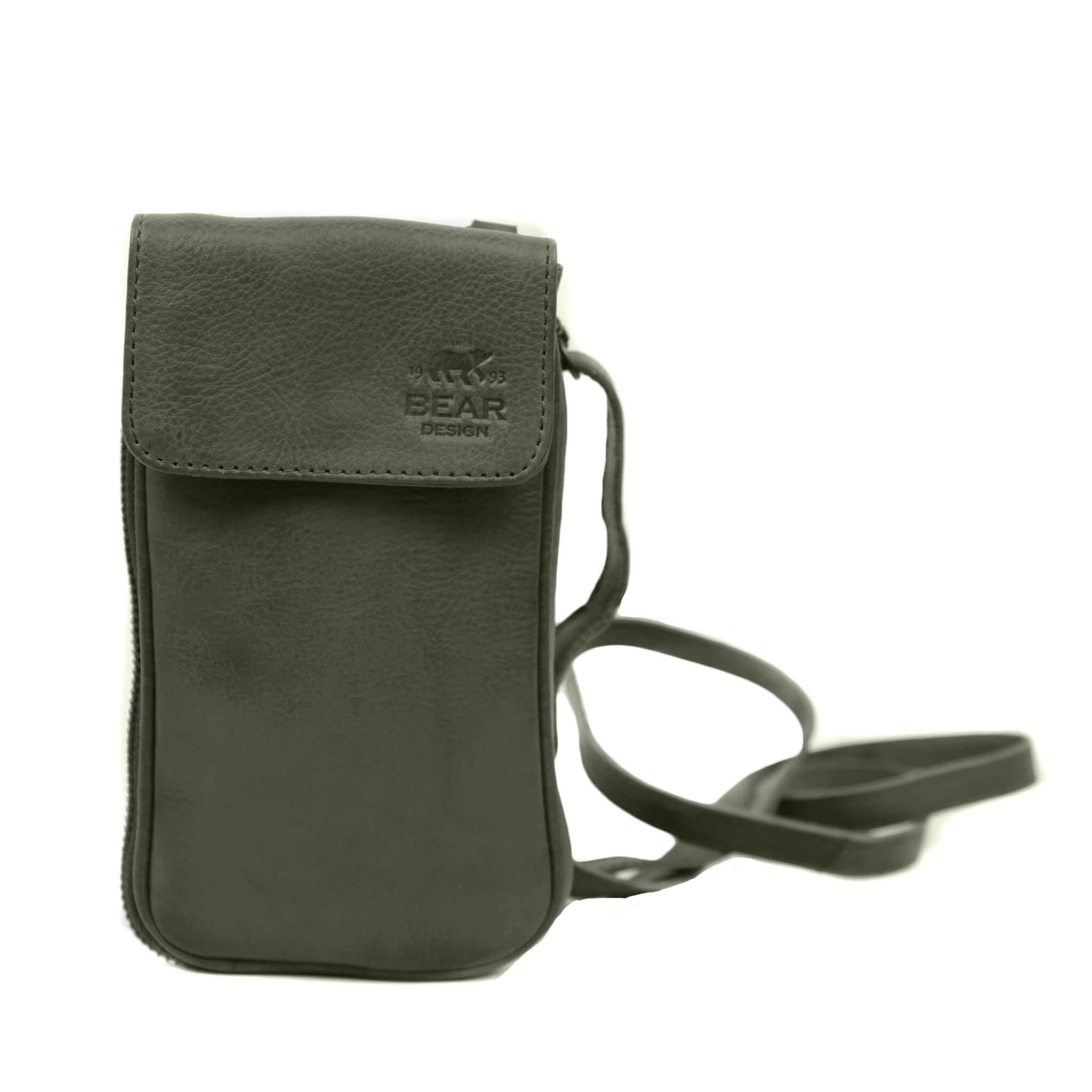 Bear Design Phone Bag Ahana Telefoontasje Groen