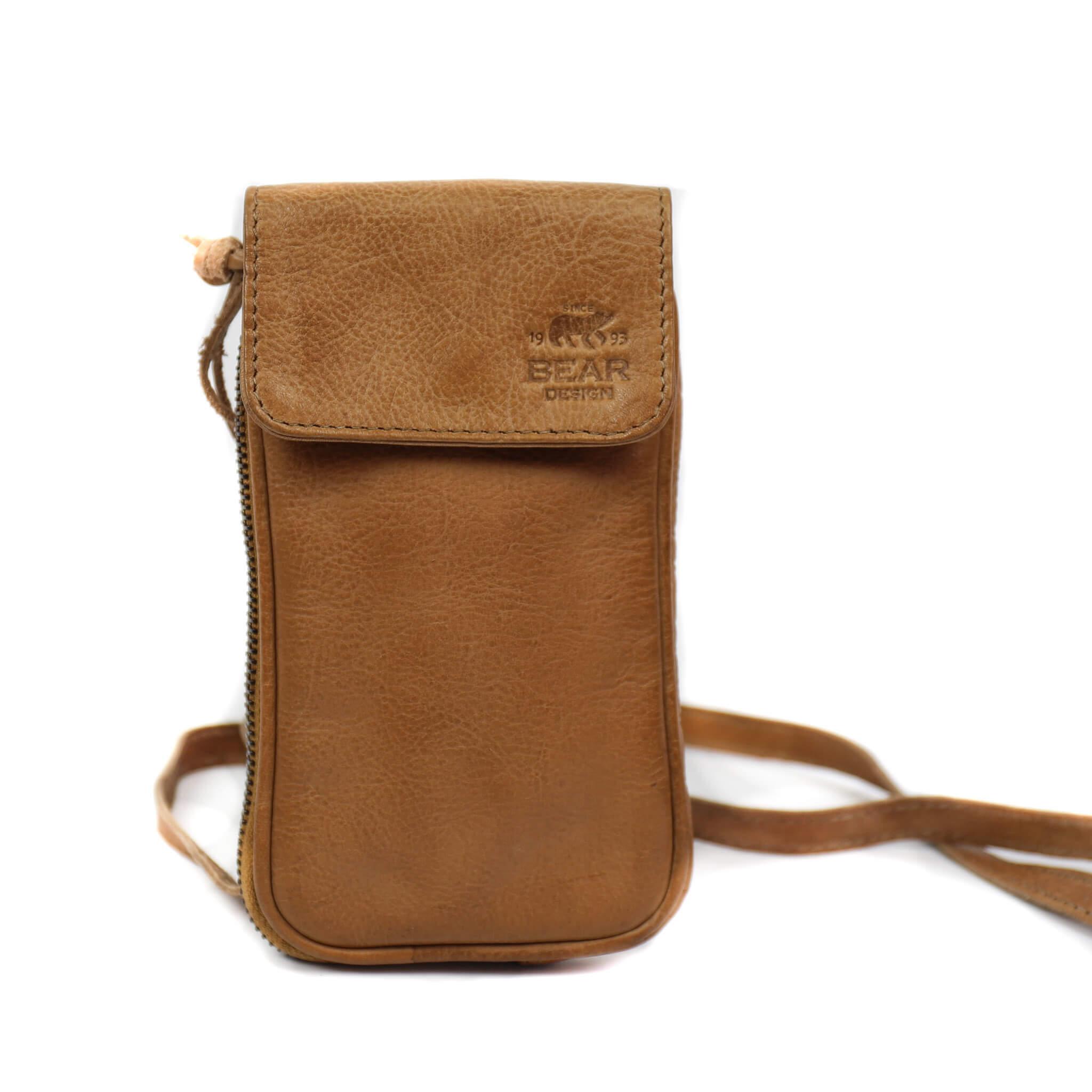 Bear Design Phone Bag Ahana Telefoontasje Taupe