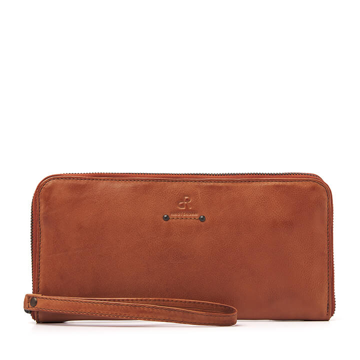 dR Amsterdam Tampa Clutch Camel