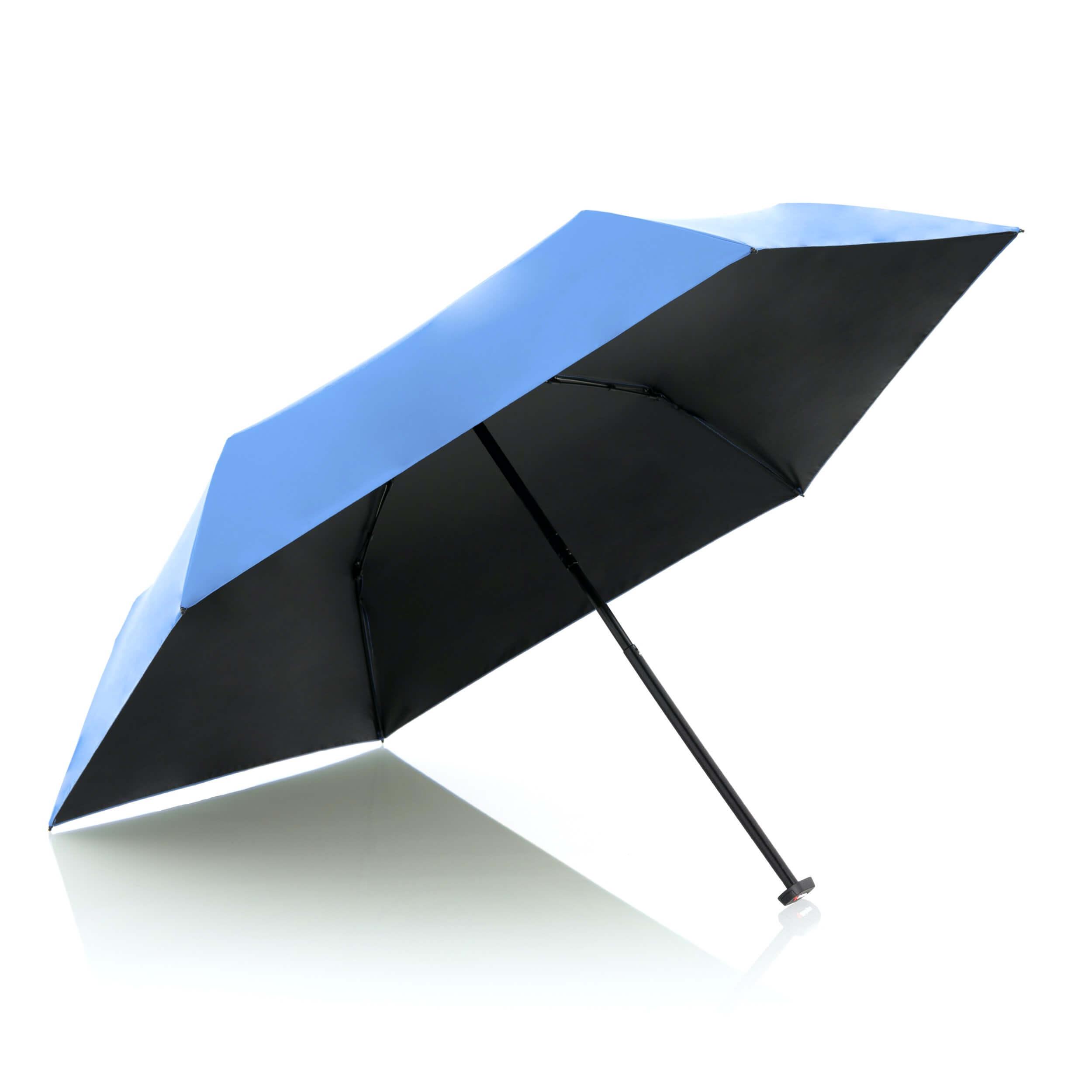 Knirps Paraplu Ultra Light Slim Blue with Black