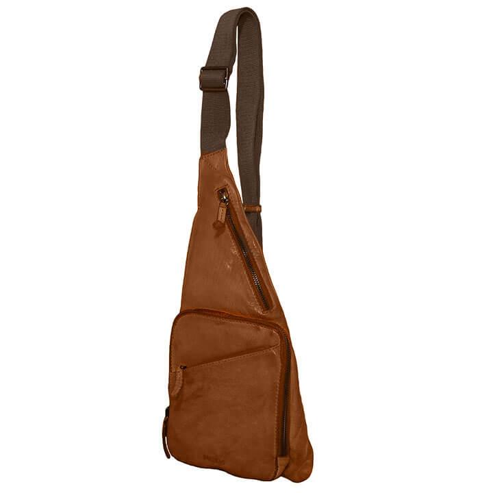 Bag2Bag Crossbody Rugzak / Bodybag Cayo Bruin
