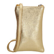 Charm London Phone Bag Elisa Telefoontasje Metallic Goud