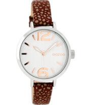OOZOO JR Horloge Walnoot Bruin | JR271