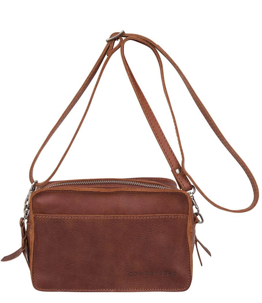 Cowboysbag Crossbody Schoudertas Bag Folkestone Cognac