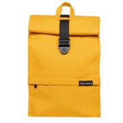 "Bold Banana Roll Top Backpack Rugzak 15.6"" Yellow Beetle"