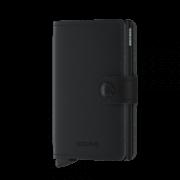 Secrid Mini Wallet Portemonnee Vegan Soft Touch Black