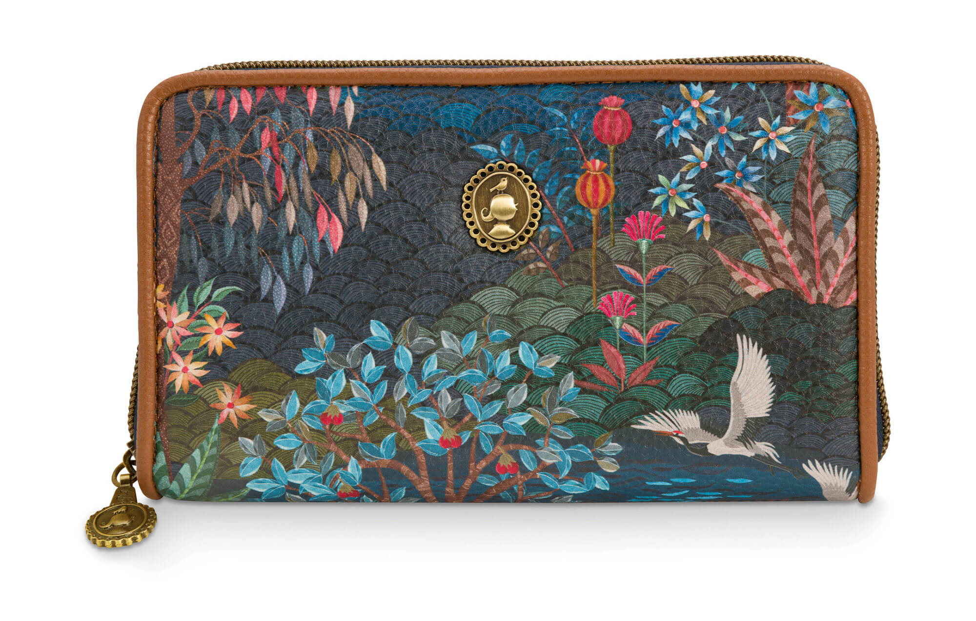 Pip Studio Portemonnee Wallet Pip Garden Dark Blue