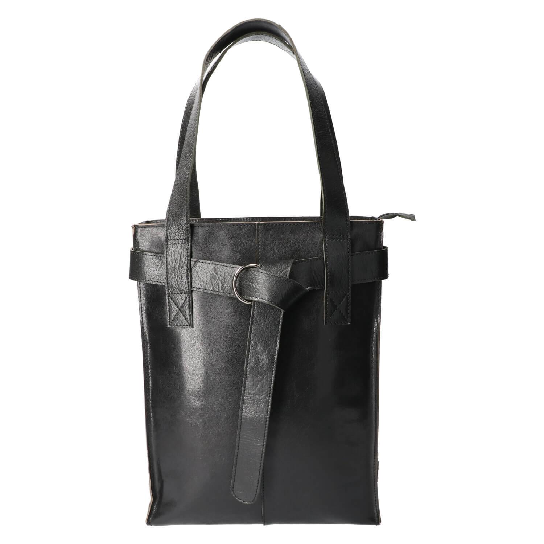 Revival by Leather Design Shopper Italia Zwart