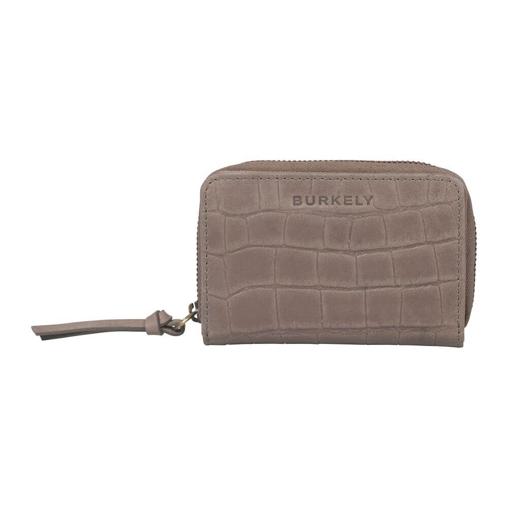 Burkely Croco Cassy Wallet S Portemonnee RFID Taupe