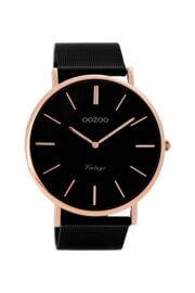 OOZOO Timepieces Horloge Vintage Zwart | C8868