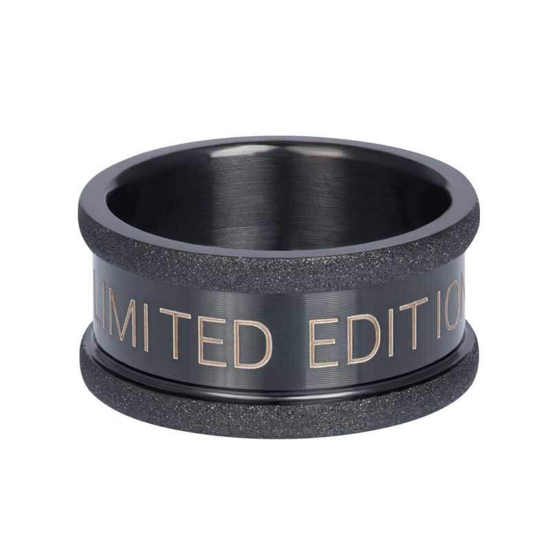 iXXXi Basisring 10 mm Zwart | Limited Edition