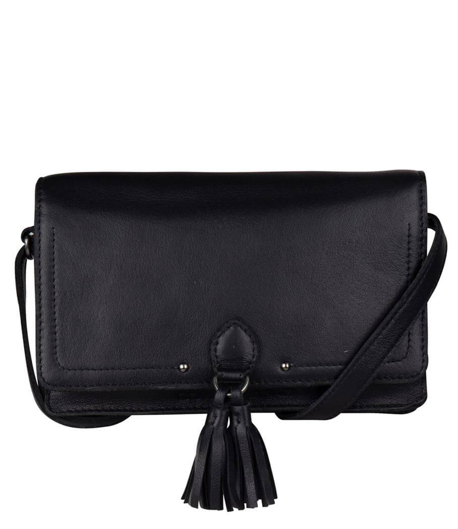 Cowboysbag Crossbody Schoudertas Travel Wallet Keig Zwart