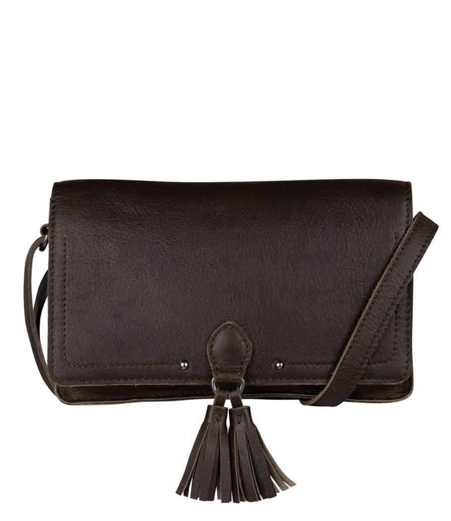 Cowboysbag Crossbody Schoudertas Travel Wallet Keig Dark Green