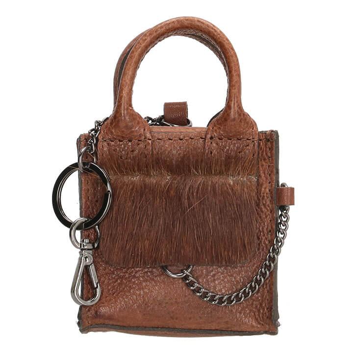 Micmacbags Mini Bag Key Ring Mendoza Bruin
