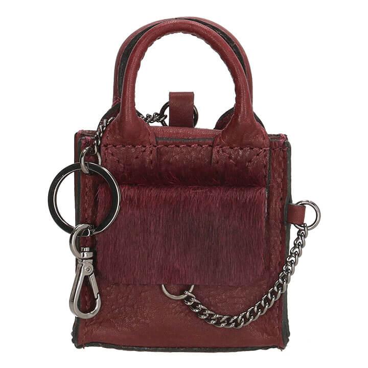 Micmacbags Mini Bag Key Ring Mendoza Burgundy