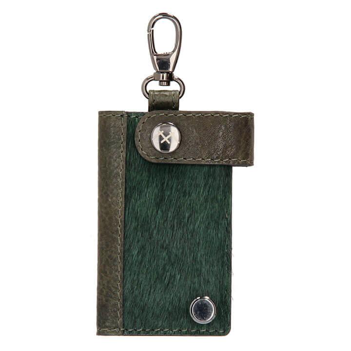 Micmacbags Sleuteletui Mendoza Dark Green