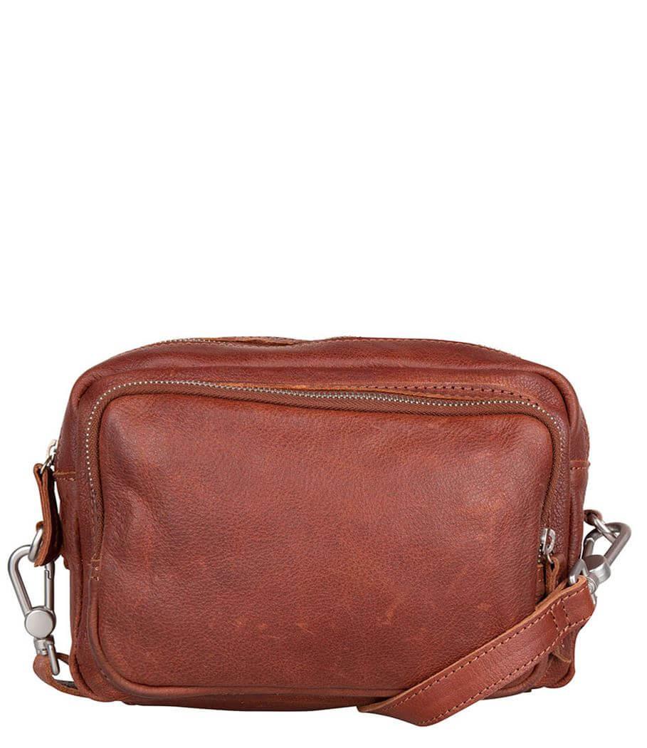 Cowboysbag Crossbody Schoudertas Bag Plockton Cognac