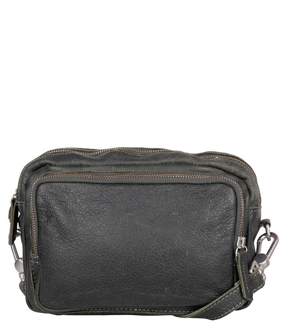 Cowboysbag Crossbody Schoudertas Bag Plockton Dark Green