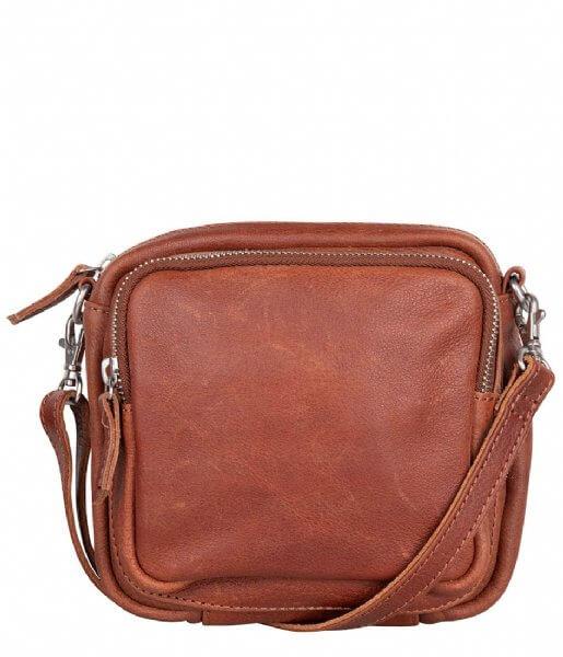 Cowboysbag Crossbody Schoudertas Bag Staffin Cognac