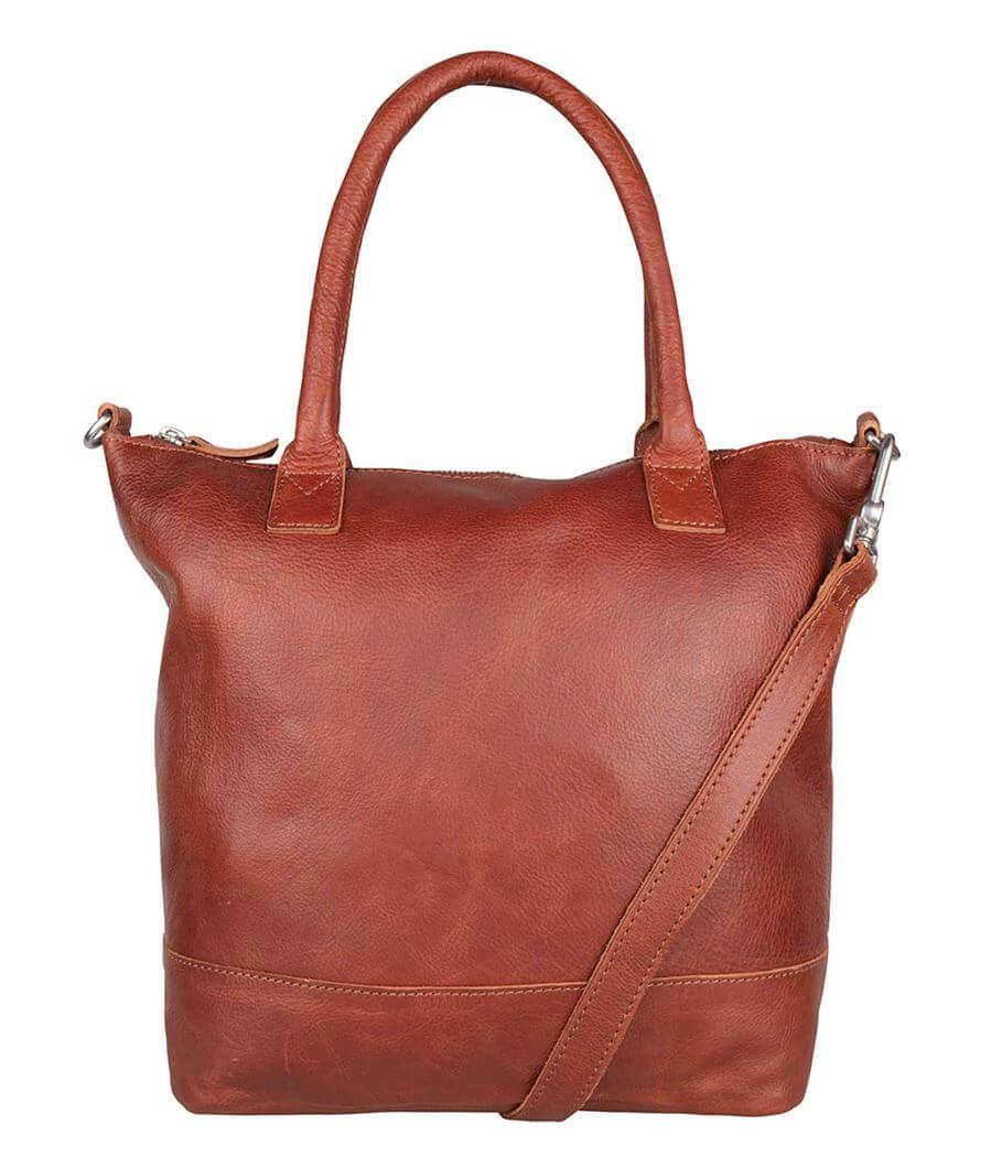 Cowboysbag Shopper/Schoudertas Bag Torridon Cognac