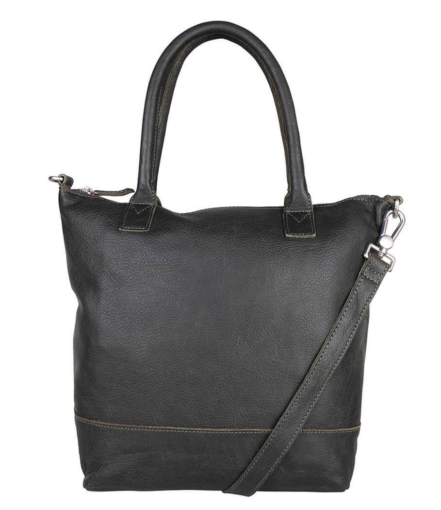 Cowboysbag Shopper/Schoudertas Bag Torridon Dark Green