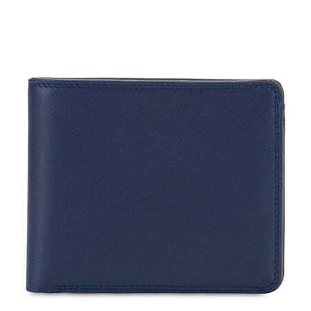 Mywalit RFID Billfold Wallet with Coin Pocket Nappa Notte