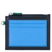 Mywalit RFID CC Holder With Zip Pocket Nappa Burano
