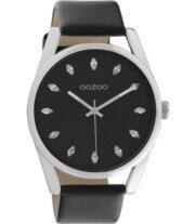 OOZOO Timepieces Horloge Zwart/Zilver | C10818