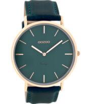 OOZOO Timepieces Horloge Vintage Petrol | C8133