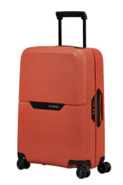 Samsonite Magnum Eco Spinner Handbagage Koffer 55 Maple Orange