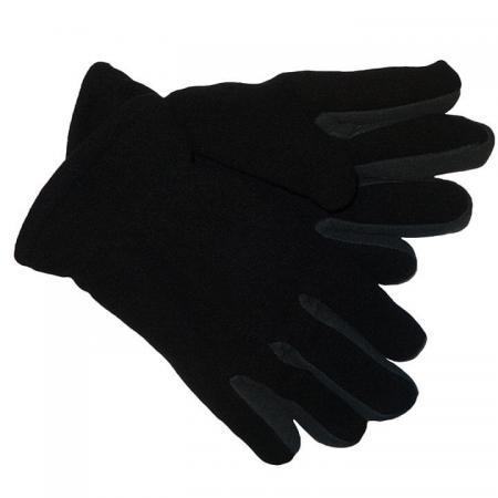 Dubbel_Fleece_Handschoenen_Zwart_Grijs