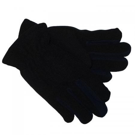Dubbel_Fleece_Handschoenen_Zwart_Blauw