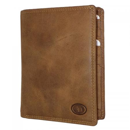 Leather_Design_Paspoort_Portemonnee_HU_2524_Bruin