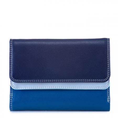 Mywalit_Portemonnee_Double_Flap_Purse_Wallet_Denim