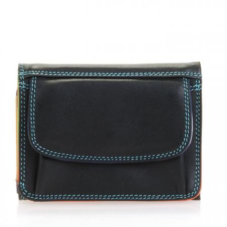 Mywalit_Portemonnee_Mini_Tri-fold_Wallet_Black_Pace