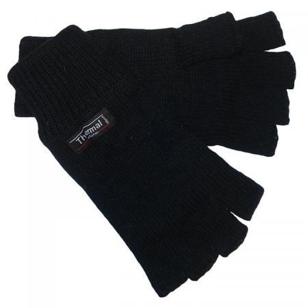 Thinsulate_Vingerloze_Handschoenen_Zwart