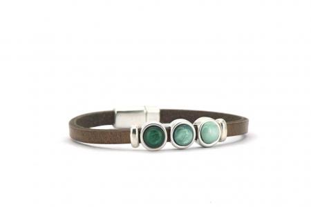 armband-milo-taupe-groen
