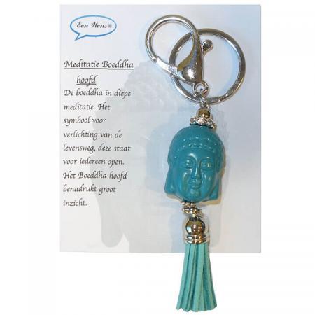 Meditatie_Boeddha_Hoofd_Turquoise