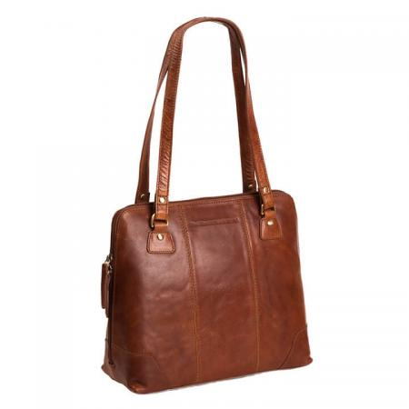 Chesterfield_Schoudertas_Shopper_Elly_Cognac (1)