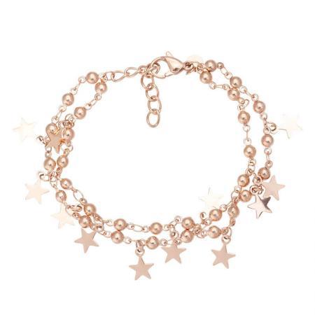 iXXXi_Enkelbandje_Dazzling_Stars_Rosé