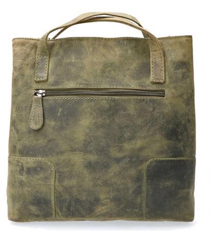 Leather_Design_Rugzak_UR 660 Groen (2)